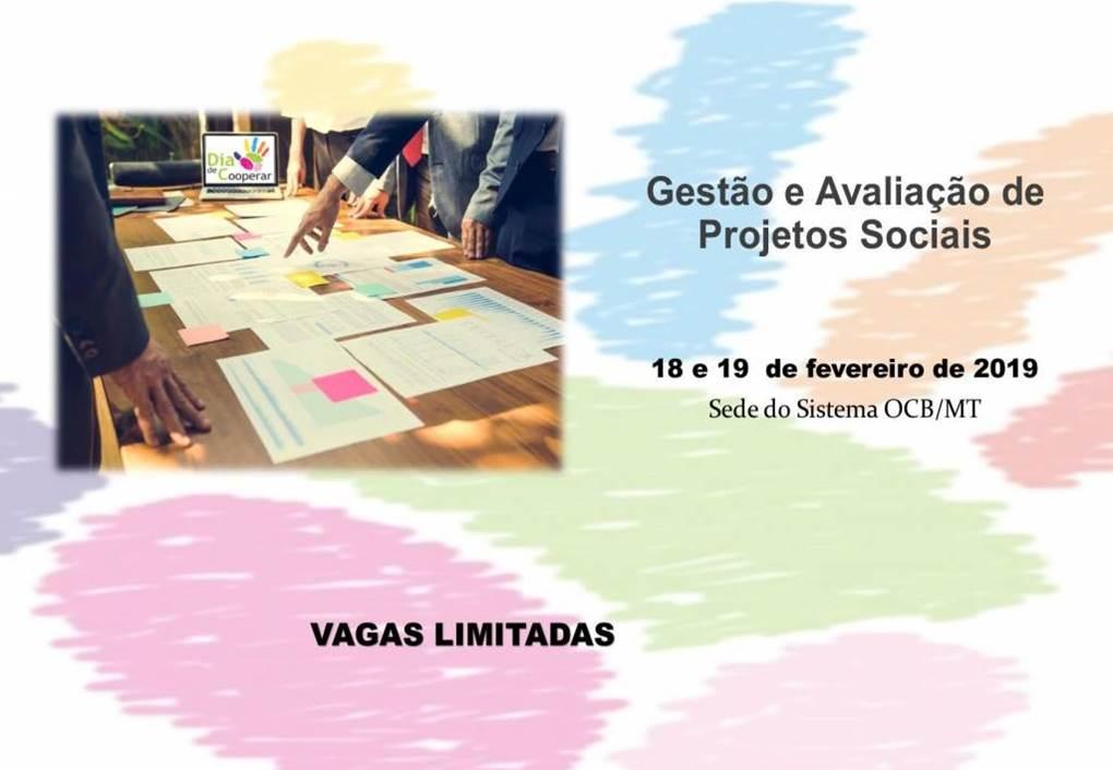 Gestão e Avaliação de Projetos Sociais